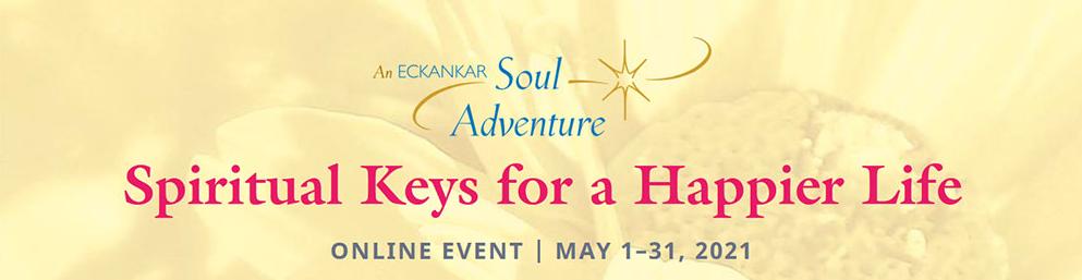 spiritual keys for a happier life banner